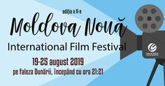 The second edition of the International Film Festival in Moldova Noua will be held, as last year, on the Danube shores at sunset. / A doua editie a Festivalului International de Film Moldova Noua se va tine, la fel ca anul trecut, pe faleza Dunarii la apus Moldova, International Film Festival, Romania, Two By Two, Sunset, Travel, Viajes, Sunsets, Trips