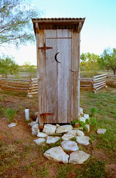 outhouse...glad we don't have to use these any more!