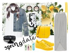 #SD by sekargupita on Polyvore featuring John Lewis, Yves Saint Laurent, adidas Originals, The Cambridge Satchel Company, Miu Miu, STELLA McCARTNEY and Clinique