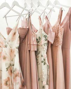 Winter Bridesmaid Dresses, Winter Bridesmaids, Mismatched Bridesmaid Dresses, Wedding Dresses, Floral Bridesmaids, Patterned Bridesmaid Dresses, Patterned Dress, Floral Dresses, Wedding Bridesmaids