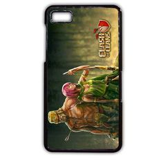 Clash Of Clans Barbarian And Archer TATUM-2674 Blackberry Phonecase Cover For Blackberry Q10, Blackberry Z10