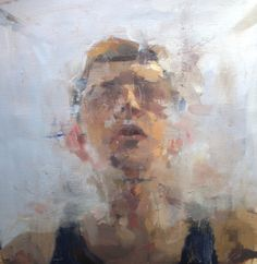 "Saatchi Online Artist: Tyler D Graffam; Oil 2013 Painting ""void"""