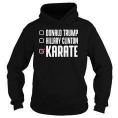 I Love Republicians Democrats Karate  0816 T-Shirts