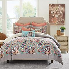 Persian Paisley Comforter Set, King by Hampton Hill Hampt...