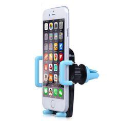 Adjustable Suporte Celular Car Phone Air Vent Mount Stand GPS Bracket telefon tutucu for iPhone 4s 5s 6 plus Smartphone