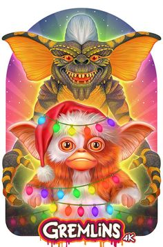 Gremlins Illustrated Poster by NickyBarkla on DeviantArt Arte Horror, Horror Art, Disney Canvas Paintings, Gremlins Gizmo, Art Pictures, Photos, Horror Movie Characters, Horror Movies, Disney Cards