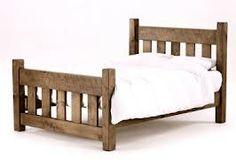 camas madera rustica - Buscar con Google