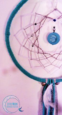 Attrape-rêves Dreamcatcher  * Little Moon handmade creation  https://www.facebook.com/littlemooncreation