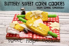 Buttery Sweet Corn Cookies