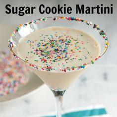 Sugar Cookie Martini #booze