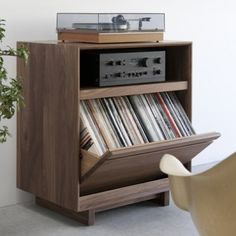 LP Storage Cabinet 101 & Symbol Audio LP Storage Cabinet