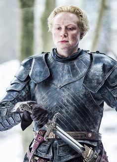 Gwendoline Christie in'Game of Thrones' (2011). x