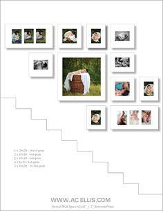 Staircase Photo Walls : Sioux Falls Photographer » Sioux Falls Wedding Photography AC Ellis