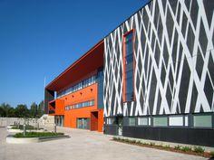 Next stop: Pinterest Finland, Concrete, High School, Education, Architecture, Building, Projects, Arquitetura, Log Projects