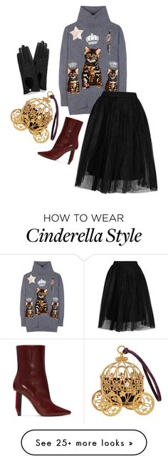 """Dolce"" by mariam-magana on Polyvore featuring Dolce&Gabbana, Vetements, Topshop and Mulberry"