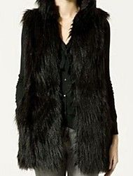 Women's Elegant Faux Fur Sleevless Fitted Long Waistcoat Save up to 80% Off at Light in the Box with Coupon and Promo Codes.