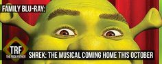 SHREK: THE MUSICAL coming to Blu-Ray, DVD, and Digital...