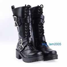 KERA Sweet DOLLY Lolita BOOTS GOTH Shoes 5.5-11, 34-44  Beeeelts~ Expensive, but why does it not have my size even though it claims to? ;n;