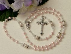 Baby Girl Tiny Rosary