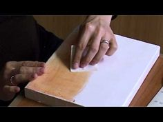 ▶ Icons: the application of the gesso - 4 polishing (pumice stone and sandpaper) - YouTube