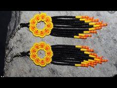 Seed Bead Earrings, Beaded Earrings, Seed Beads, Handmade Beaded Jewelry, Earring Tutorial, Brick Stitch, Bead Art, Bridal Jewelry, Crochet Patterns