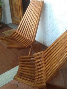 Sdraio in legno autocostruita