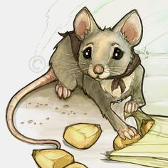Cartoon rat drawings rat clip art handz pinterest for Field mouse cartoon