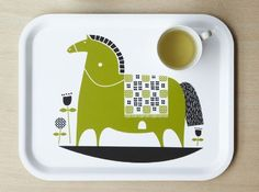 Rocking Horse Tray by Roddy and Ginger // via Retro To Go
