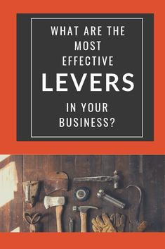 Are you making the right choices?  Are you focusing on the things that are going to give you the biggest bang for your buck?  Are you spending your time on the things that are going to give you the greatest return for the least amount of time and effort?  Just recently I was talking with a coaching client of mine about levers in her business.  And then...