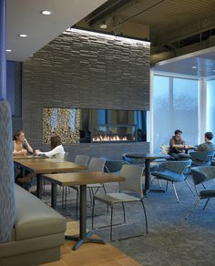 UMASS Fox Hall Dining | Seating orientation_after by LeeKennedyCo, via Flickr