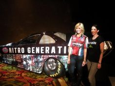 2012 NHRA: Two Of The Fastest Women On The Planet  Ready For NHRA Four-Wide Nationals