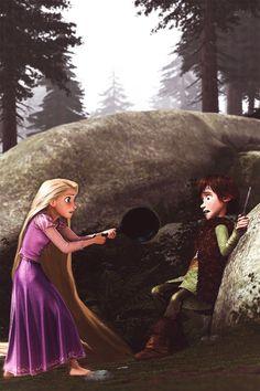 Hiccup & Rapunzel {Hiccunzel}