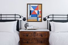 Luxury Rooms and Suites - Two Queen Room - Washington School House Hotel - Park City, Utah