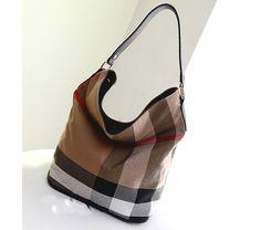 Canvas Bag Plaid casual hobo bag leather handbag Tote Shoulder messenger bag