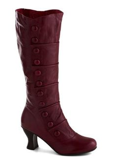Can't decide if these look like boots that a witch would wear, but either way I like them