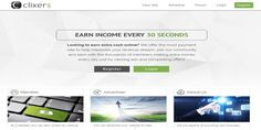 Clixers is a PTC program that pays its members to click on PTC ads and complete simple tasks. It also has an affiliate program that allows you to make money from other people clicking on ads. Check out my Clixers Review to learn more. #Clixers   #PTC   #AffiliateProgram   http://generateonlinewealth.com/clixers-review-scam-legit