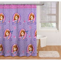 Sofia the First Shower Curtain