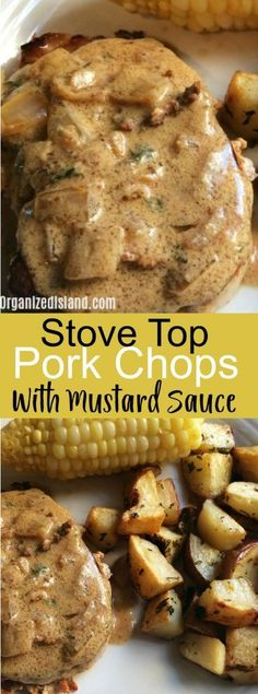 Simple Stovetop Pork Chops - delicious and made in minutes on your stovetop. #porkchops #recipe #recipes #porkchop #skilletsupper #skilletrecipe #simplerecipes #easyrecipes