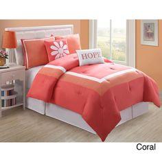 Cool Purple Comforter Set Idea for Tween & Teen Girl Bedroom