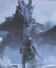 "The Dov landed with the sound of thunder. ""Dovakin! Fool! Do you think you can kill us all?"" The warrior looked the Dragon in the eye and spoke without wavering. ""No. But I can kill one more."""