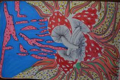 Moleskine, Amanitas. by Mireya Valero