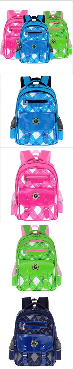 2016 New Children school bags children backpacks kids school bag Leisure waterproof bag Double shoulder bag