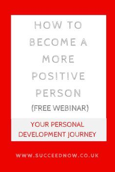 Morning routine webinar to become a more positive person