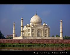 """The Taj Mahal (play /ˈtɑːʒ məˈhɑːl/; Hindi: ताज महल [taːdʑ mɛɦɛl];[dubious – discuss] Persian/Urdu: تاج محل) is a mausoleum located in Agra, India, built by Mughal emperor Shah Jahan in memory of his favorite wife, Mumtaz Mahal. Taj Mahal means """"crown of buildings"""" in Urdu.The Taj Mahal (also """"the Taj"""") is considered the finest example of Mughal architecture, a style that combines elements from Islamic, Indian and Persian architectural styles."""