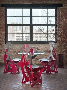 Des chaises Design par Alexander Gendell decodesign / Décoration