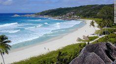 Link to 100 world's best beaches. 1. Grande Anse Beach, La Digue Island, Seychelles