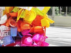 'Color Jam': A conversation with Jessica Stockholder - YouTube