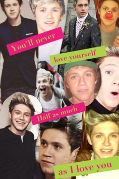 This is a message from me to you .. I just happened to also have a bunch of picks of Niall attached