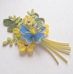 Paper Quilling Flowers, Quilling Cards, Belly Button Rings, Jewelry, Art, Art Background, Jewlery, Jewerly, Schmuck