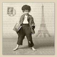 Lunch Servetten Newspaper Boy
